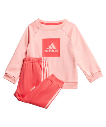 adidas Performance - Mädchen Baby und Kleinkind Jogginganzug zweiteilig