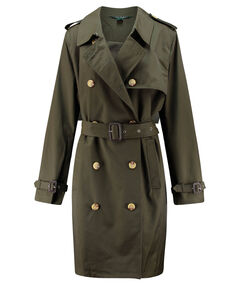 Damen Trenchcoat - Plus Size