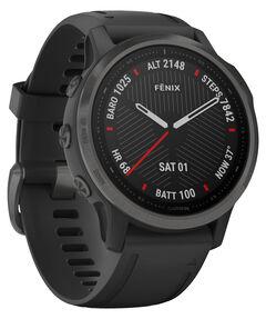 """GPS-Multifunktionsuhr """"Fenix 6S Sapphire"""" Schwarz/Schiefergrau DLC"""