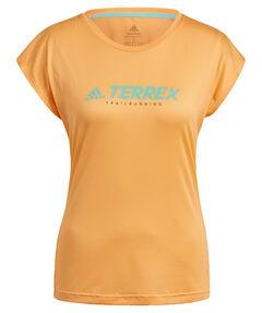 "Damen Laufshirt ""Trail Logo"" Kurzarm"