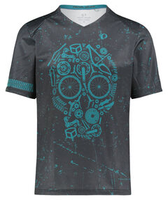 "Herren Mountainbike-Shirt ""MTB LTD Launch Jersey"" Kurzarm"