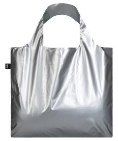 """Damen Shopper """"Metallic Matt Silver Bag"""""""