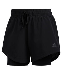 "Damen Trainingsshorts mit Innentights ""2 in 1 Woven Short"""