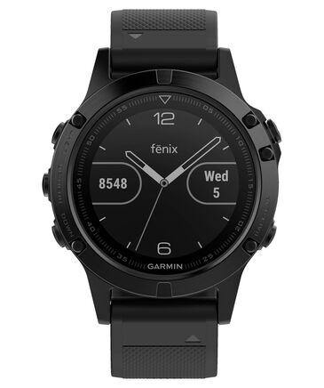 """Garmin - GPS-Multifunktionsuhr """"fēnix 5 Saphir"""" schwarz/schwarz"""