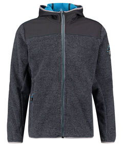 Herren Fleece-/Powerstretchjacke