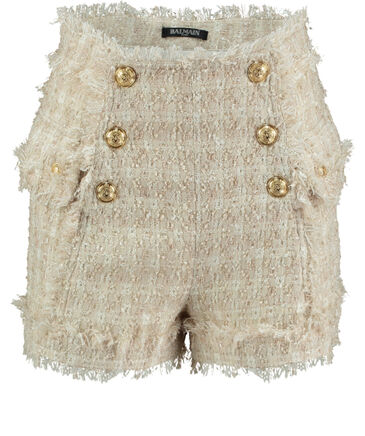 Balmain - Damen Tweed-Shorts