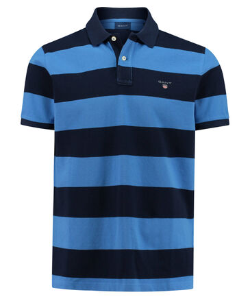 "Gant - Herren Poloshirt ""Barstripe Pique Rugger Polo"" Kurzarm"