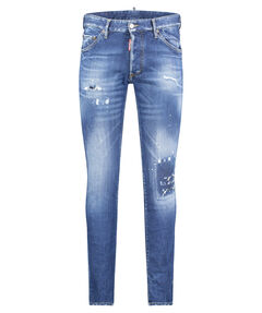 "Herren Jeans ""Cool Guy Med Blue Denim"" Skinny Fit"