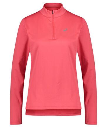 """Asics - Damen Running Sweatshirt """"Silver LS 1/2 Zip Winter Top"""" Langarm"""