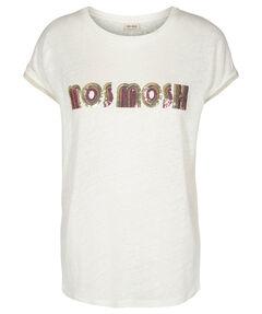 """Damen Leinenshirt """"Aya Logo"""" Kurzarm"""