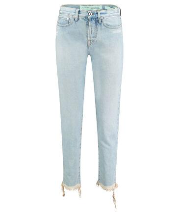 "Off-White - Damen Jeans ""Bleach"" Slim Fit"
