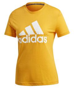 """Damen Trainingsshirt """"Must Haves Badge of Sport"""" Kurzarm"""