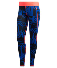 "Damen Trainingstights ""Alphaskin Long Varsity Hack Tight"""