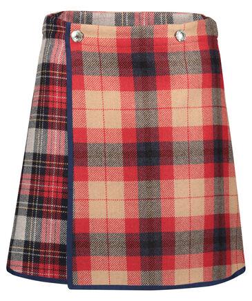 "Tommy Hilfiger - Damen Wickelrock ""Icon Wool Check Mini Skirt"""