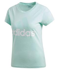 "Damen Trainingsshirt ""Essentials Linear Slim Tee"" Kurzarm"
