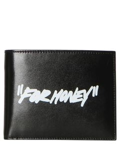 """Herren Geldbörse """"For Money Black Bifold Wallet"""""""