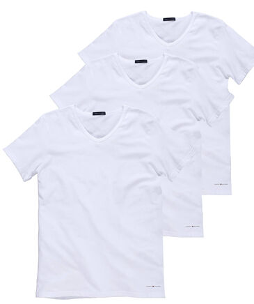 Tommy Hilfiger - Herren T-Shirt im 3er Pack