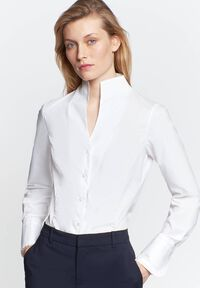 Damen Hemdbluse Modern Fit Langarm