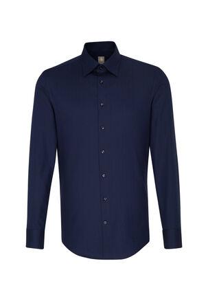 Jacques Britt - Herren Hemd Custom Fit Langarm