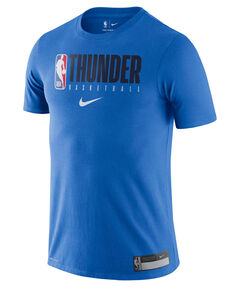 "Herren Basketballshirt ""NBA Oklahoma City Thunder"" Kurzarm"
