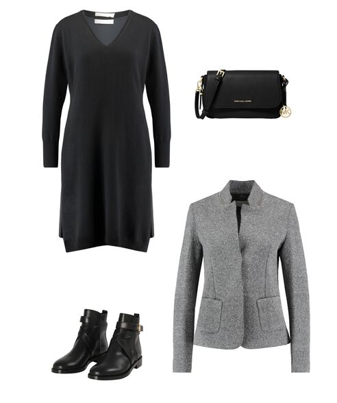 Outfit - Black And Grey