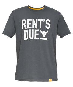 """Herren Fitness-Shirt """"Project Rock Rents Due"""" Kurzarm"""