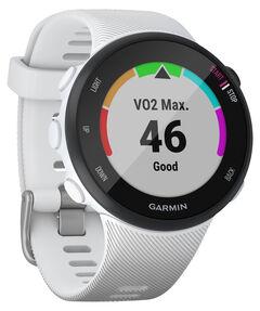 "GPS-Laufuhr ""Forerunner 45 S"" weißes Armband"