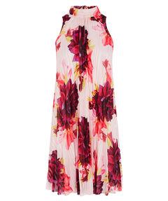 "Damen Kleid ""Floral Print Trapeze Dress"" Ärmellos"