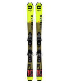 "Kinder Skier ""Racetiger JR Yellow+4.5vMotion JR."