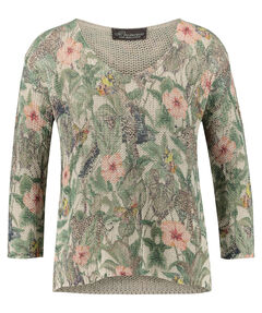 "Damen Pullover ""Low gauge sweater jungle"" 3/4-Arm"
