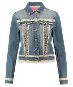 Damen Trachten-Jeansjacke