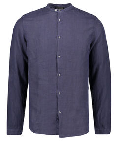 Herren Leinenhemd Regular Fit Langarm
