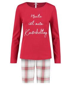 """Damen Pyjama """"Heute ist mein Kuscheltag"""""""