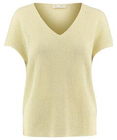 Damen Strick-Shirt Kurzarm