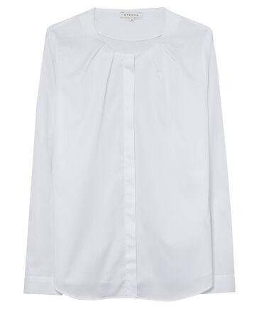 Eterna - Damen Bluse Modern Fit Langarm