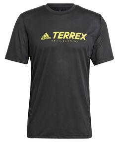 """Herren Laufshirt """"Terrex Primeblue Trail Functional Logo"""" Kurzarm"""