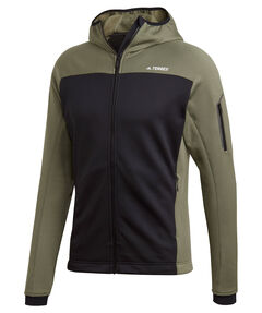"Herren Fleecejacke mit Kapuze ""Terrex Stockhorn Hooded Fleece Jacket"""