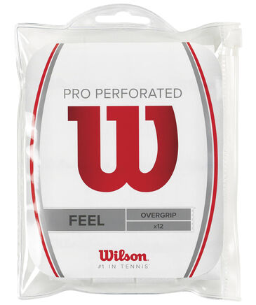 Wilson - Tennis Griffband Pro Overgrip Perforated 12er Pack