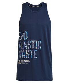 "Herren Lauftanktop ""Run for the Oceans Graphic"""