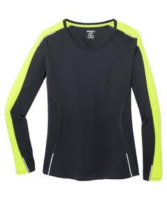 """Damen Running Shirt Langarm """"Nightlife"""""""