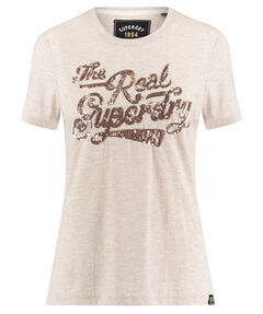 "Damen T-Shirt ""The Real Tonal Sequin Entry Tee"""