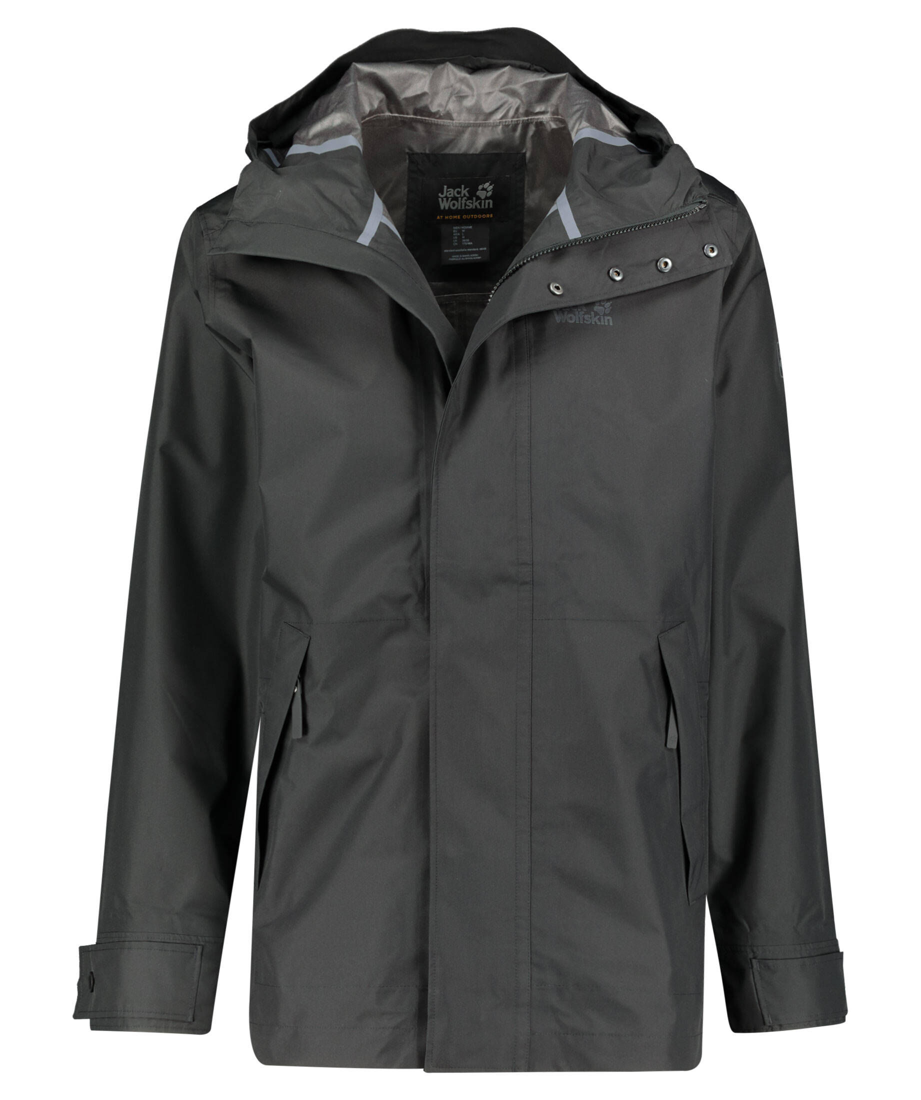 jack wolfskin cape conran jacket schwarz