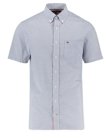 Tommy Hilfiger - Herren Hemd Regular Fit Kurzarm