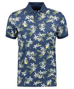 "Herren Poloshirt ""Lemon Flower"" Kurzarm"