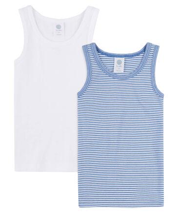 Sanetta - Jungen Unterhemd Doppelpack