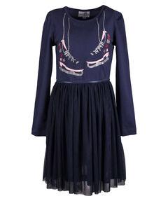 Mädchen Kleid Langarm