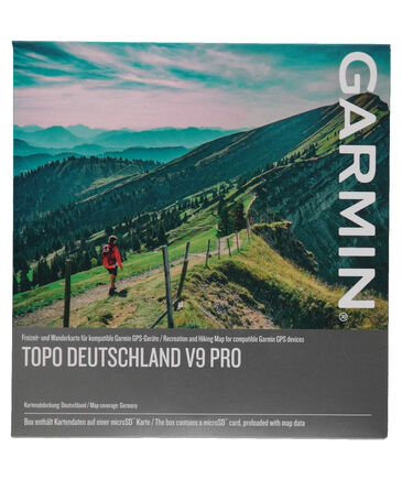 "Garmin - Bergsport digitale topographische Karte ""V9 Deutschland Retail Version"""