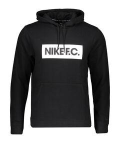 """Herren Fußball Sweatshirt """"F.C."""" mit Kapuze"""