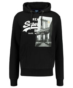 "Herren Sweatshirt mit Kapuze ""VL NYC Photo Hood"""