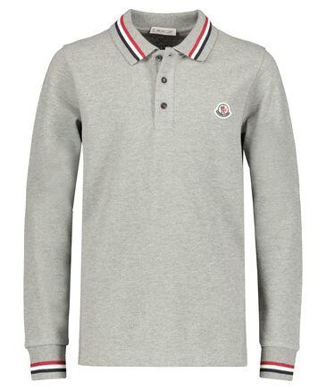 Moncler - Jungen Poloshirt Langarm